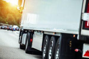 Aanrijding vrachtwagen