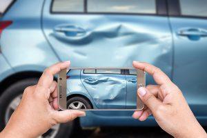 Ongeval bedrijfswagen